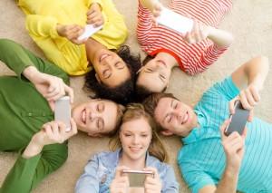 smartphone circle